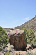 Rock Climbing Photo: C3PO is the pine line.