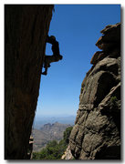 Rock Climbing Photo: Eric Deschamps on New Wave Direct