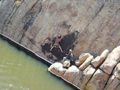 Rock Climbing Photo: some route! not in any guide.