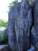 Rock Climbing Photo: Very steep, very crimpy.