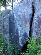 Rock Climbing Photo: big falls
