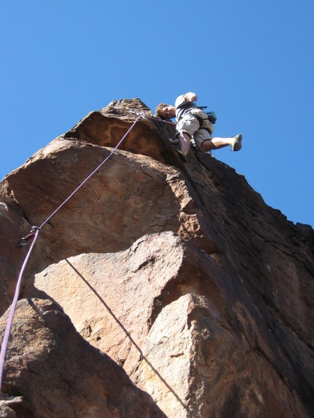 Rock Climbing Photo: fun day... for a 30ft cliff