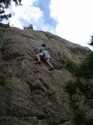 Rock Climbing Photo: Erin, 7.