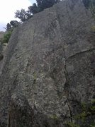 Rock Climbing Photo: A much better photo of Straight Up Now, Tell Me Do...