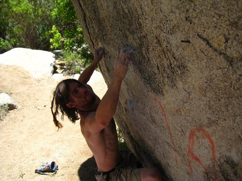 "Rock Climbing Photo: 1/4"" Minus"