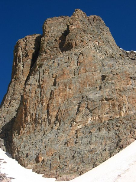 Rock Climbing Photo: The Seldom Seen Wall viewed from the south, just a...