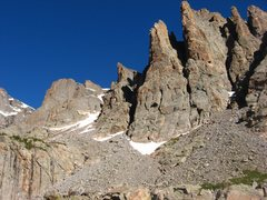Rock Climbing Photo: From left to right: The Seldom Seen Wall, The Stil...