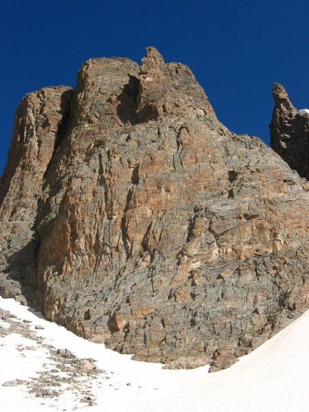 Rock Climbing Photo: The Seldom Seen wall viewed from a bit further wes...