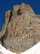 Rock Climbing Photo: The Route that Kor Forgot on the Seldom Seen Wall....