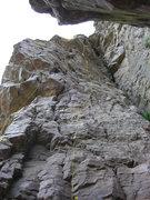 Rock Climbing Photo: 11 - Farr Side (5.10a) 12 - Dark Side (5.10a)