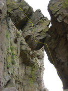 Rock Climbing Photo: 10 - Take The Heise Plunge (5.10d)