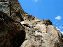 Rock Climbing Photo: The right side of the Leaning Wall....