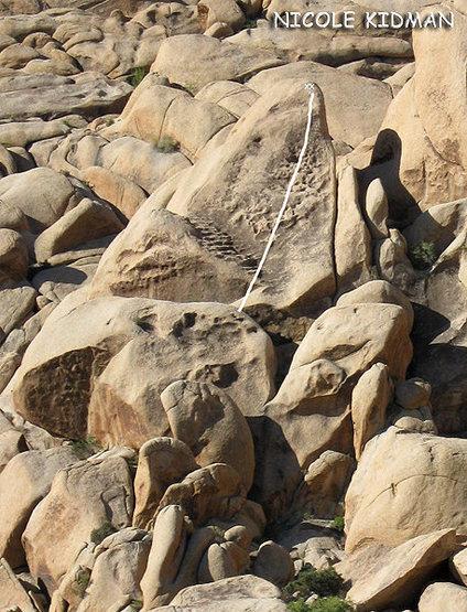 "Rock Climbing Photo: ""Nicole Kidman"". Photo by Blitzo."