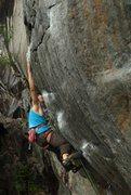 Rock Climbing Photo: mike foley extending through the crux (the strong ...