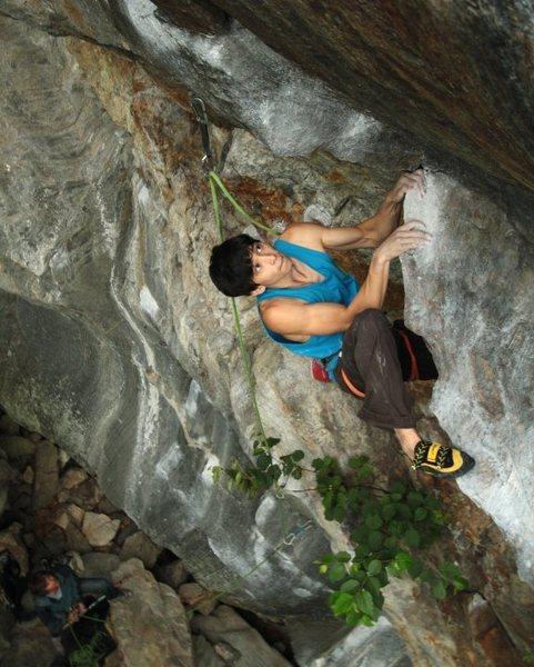 Rock Climbing Photo: mike foley on Big K