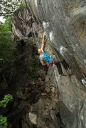 Rock Climbing Photo: one more of mike on Kahuna