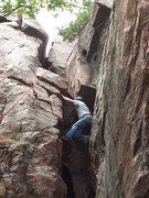 Rock Climbing Photo: myself climbing the grotto
