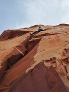 Rock Climbing Photo: Castleton Tower - The North Face