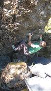 Rock Climbing Photo: Tyler Jackson sending EXCELSIOR