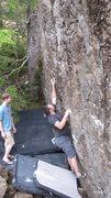 Rock Climbing Photo: Jerod Henning sending ODB LE
