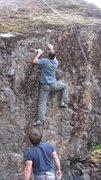 Rock Climbing Photo: Tyler Jackson sending...