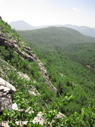Rock Climbing Photo: Central Slab. The furthest down edge appears a pla...