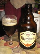 Rock Climbing Photo: Maredsous A fine abbey style beverage.