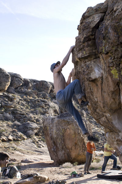 Dave Ward working the Duality V5