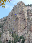 Rock Climbing Photo: The first two pitches of Sorcerer's Apprentice