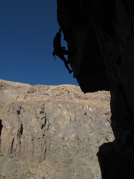 Dale seconding the route