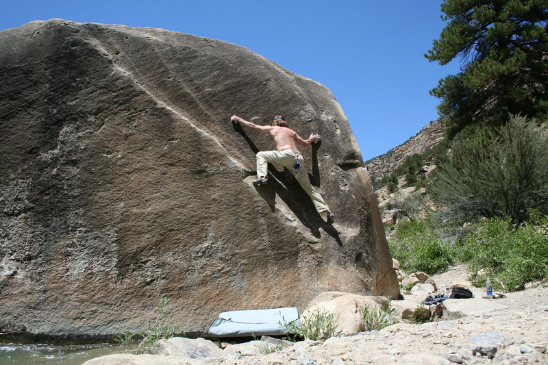Rock Climbing Photo: the angler