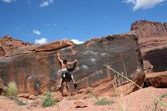 Rock Climbing Photo: the black box