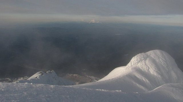 View from the summit of Hood