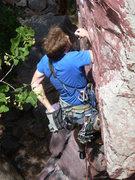 "Rock Climbing Photo: The ""No Hands"" rest."