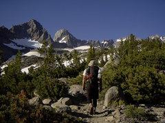 Rock Climbing Photo: Approaching the palisade glacier