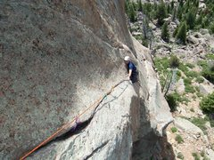 Rock Climbing Photo: Joe is following P2 of Days of Heaven...