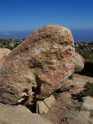 Rock Climbing Photo: Johnnie Big Mouth, V4.