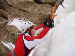 Rock Climbing Photo: climbing ice