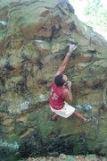Rock Climbing Photo: big cross