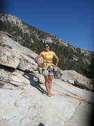 Rock Climbing Photo: Awesome Agina!!  At the top of Jensens Jaunt after...
