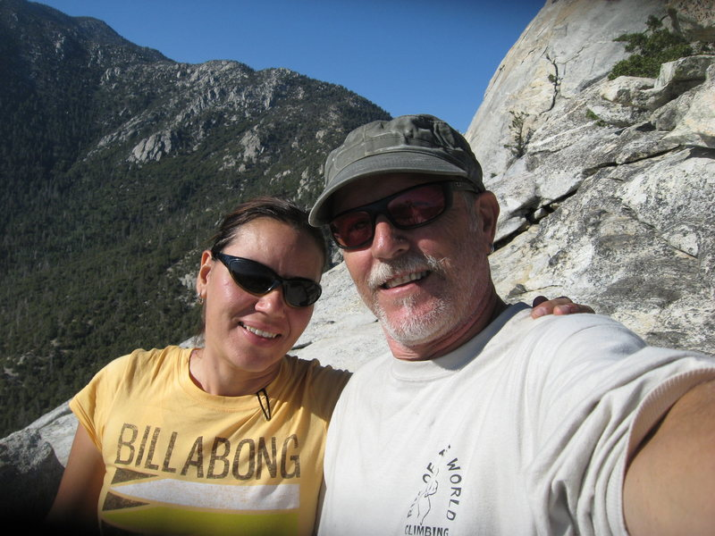 Our summit photo.  6-26-10