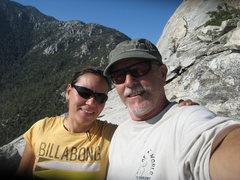 Rock Climbing Photo: Our summit photo.  6-26-10
