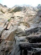 Rock Climbing Photo: Tom E. on Svengali.