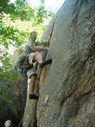 Rock Climbing Photo: John Maguire after being told that this climb was ...