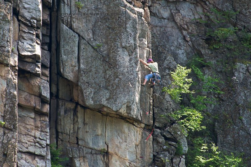 Rock Climbing Photo: Brendan on Judgement Seat.