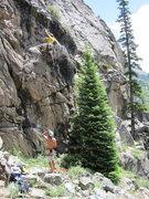 Rock Climbing Photo: First FA.
