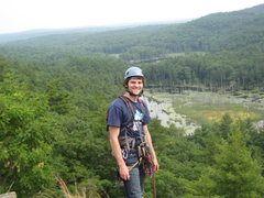 Rock Climbing Photo: Me on top of the Dome