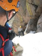 Rock Climbing Photo: Goss, leadin' sexy.
