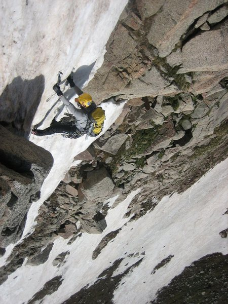 Rock Climbing Photo: Top Gun -- inverted just like the movie....  Photo...