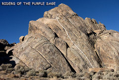 """Rock Climbing Photo: """"Riders of the Purple Sage"""". Photo by Bl..."""